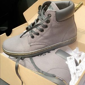 Charcoal grey dr. martens brand new